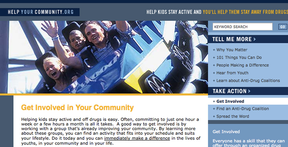 Nominee - Help Your Community.org Web Site