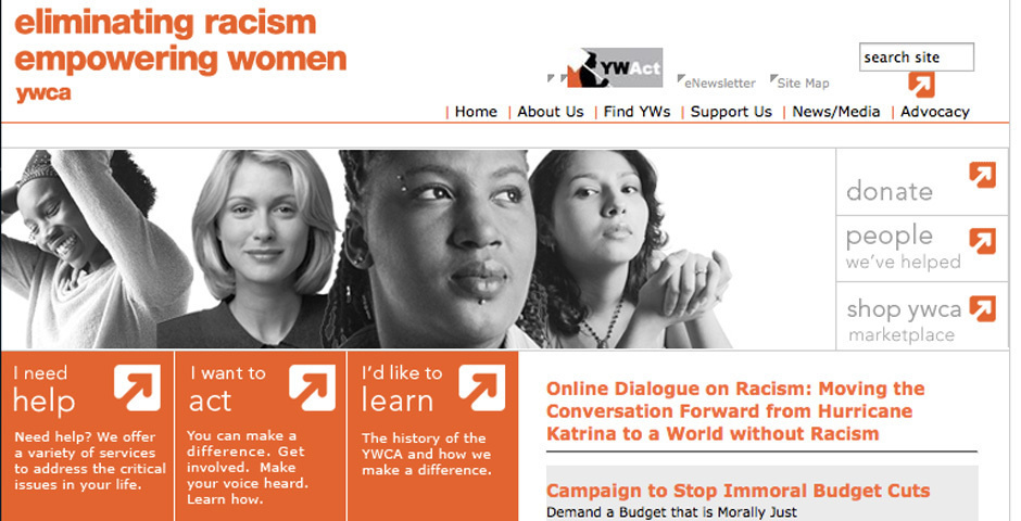 Webby Award Nominee - eliminating racism, empowering women:  ywca