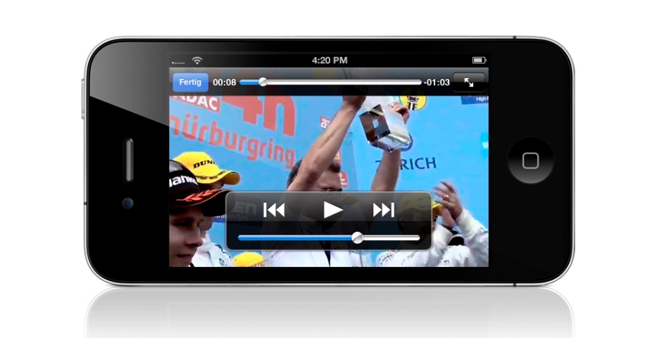 Webby Award Nominee - BMW Motorsport App