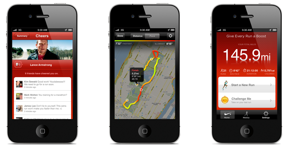Webby Award Winner - Nike+ GPS