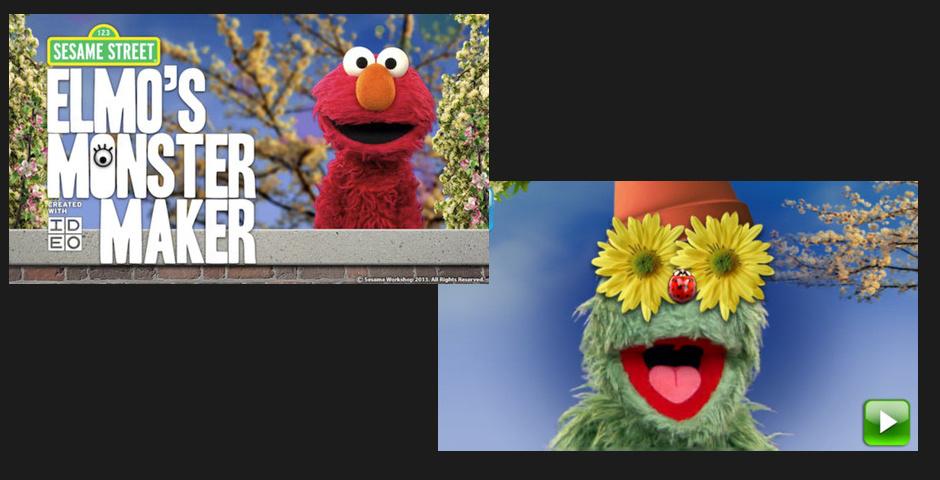 Webby Award Nominee - Elmo\'s Monster Maker