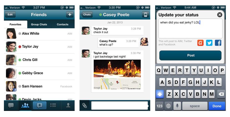 Nominee - AIM iPhone App