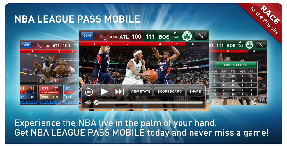 Nominee - NBA League Pass Mobile