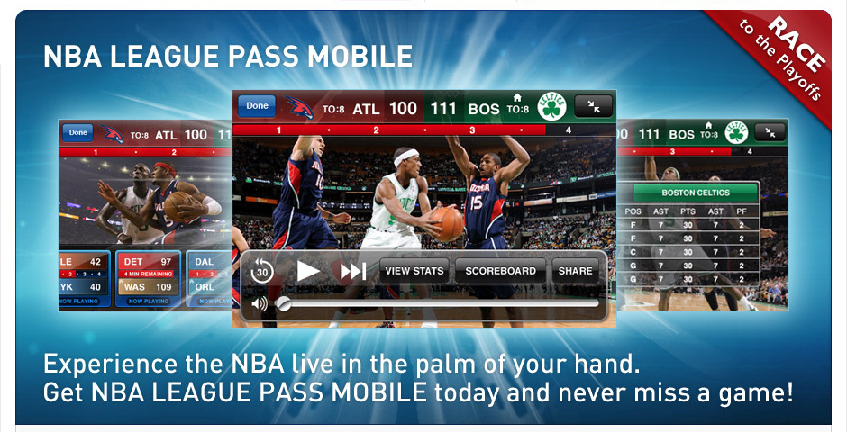 Webby Award Nominee - NBA League Pass Mobile