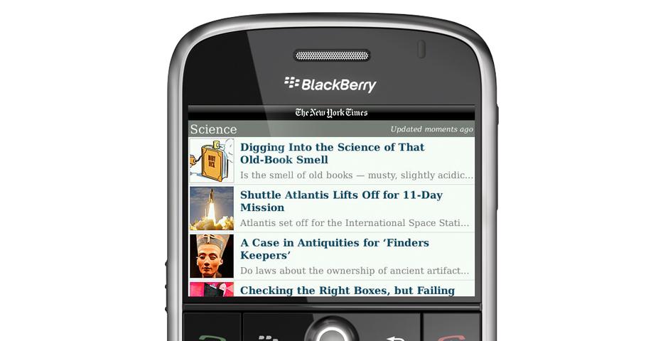 Webby Award Winner - Mobile – The New York Times