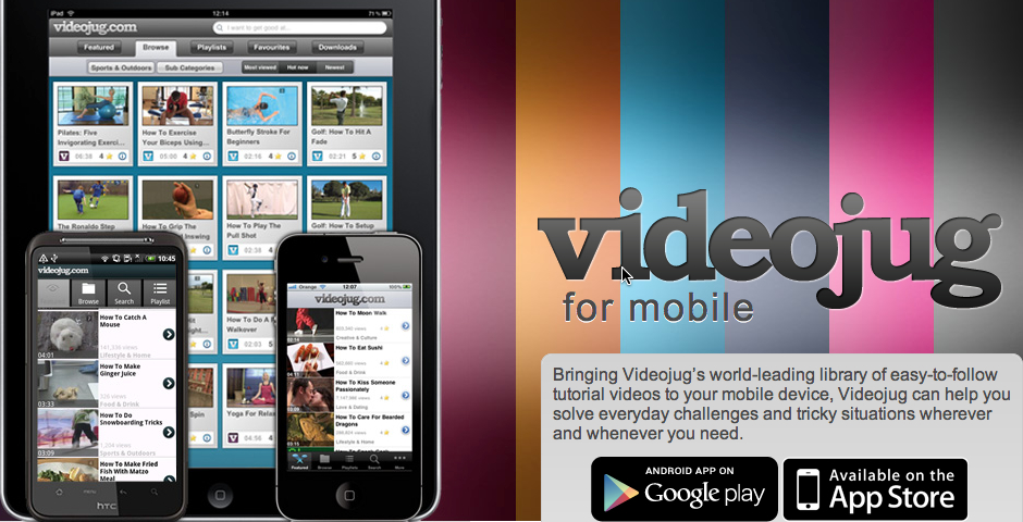 Nominee - How to Videos: Videojug.com