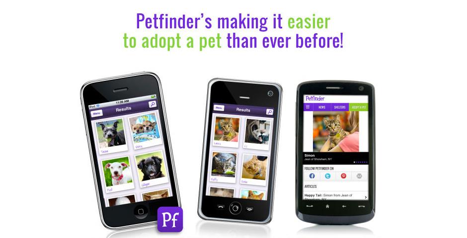 2011 Webby Winner - Petfinder App