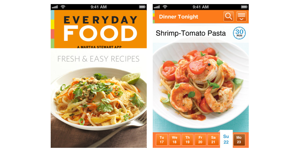 Nominee - Martha's Everyday Food App for iPhone