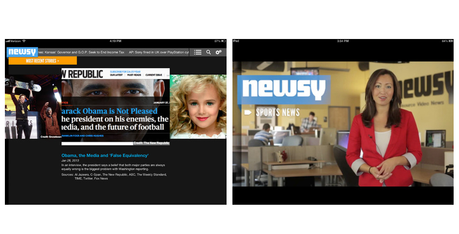 Nominee - Newsy for iPhone
