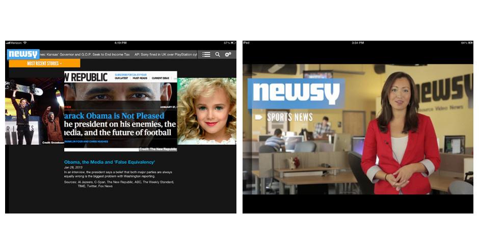 Webby Award Nominee - Newsy for iPhone