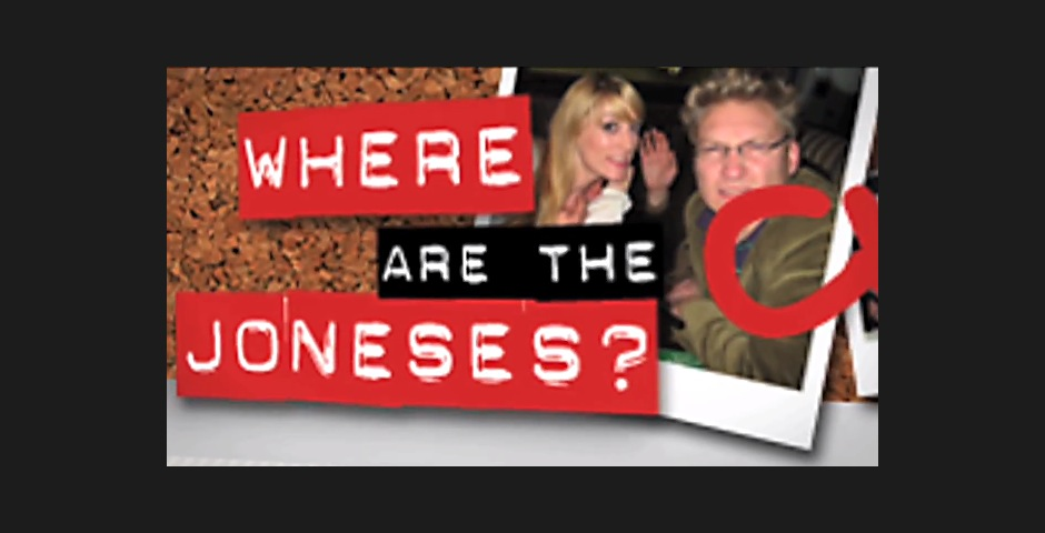 Nominee - Where are the Joneses?