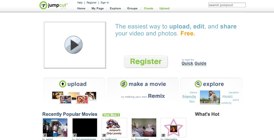 Nominee - Jumpcut – Make Amazing Movies Online
