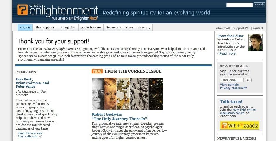 2007 Webby Winner - What Is Enlightenment?