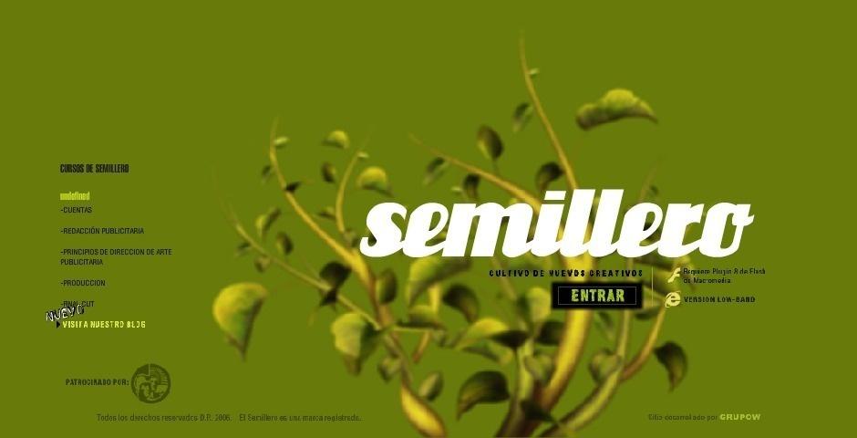 Webby Award Nominee - Semillero