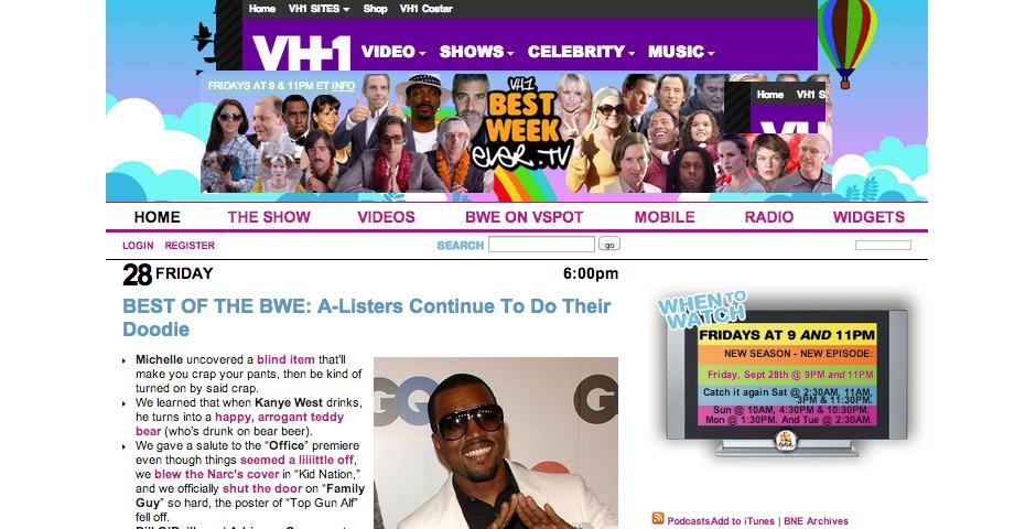 People's Voice / Webby Award Winner - Best Week Ever