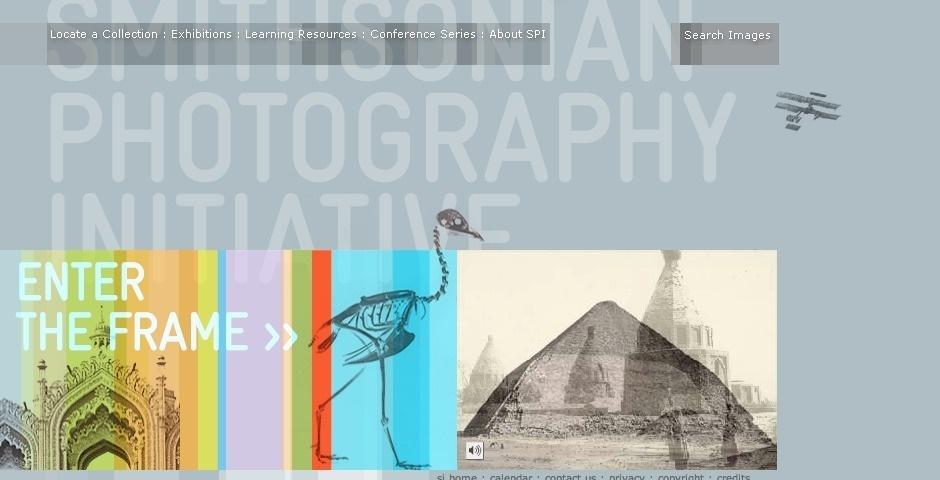 2007 Webby Winner - Smithsonian Photography Initiative