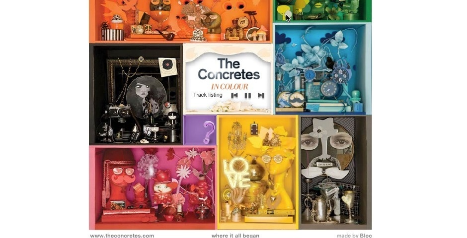 Webby Award Nominee - The Concretes, In-Colour