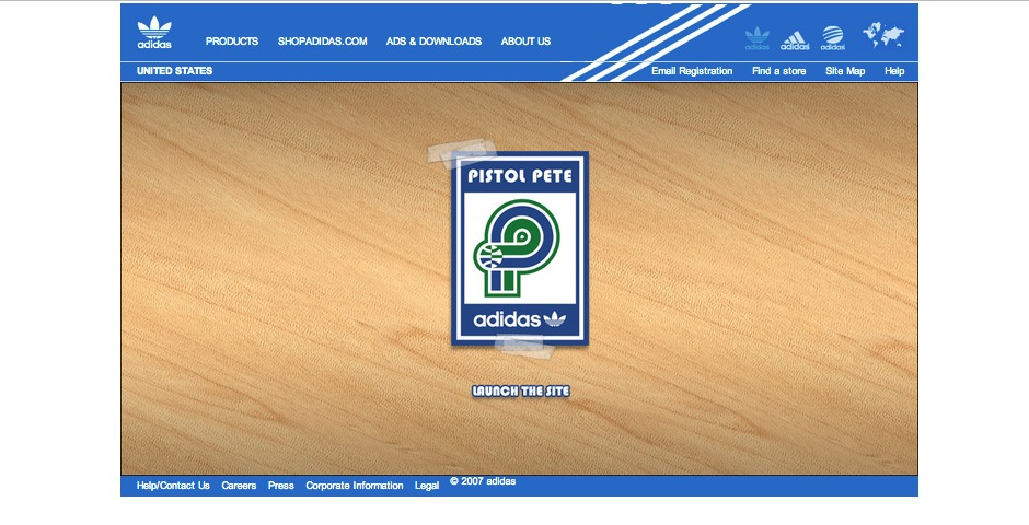 Nominee - adidas Pistol Pete