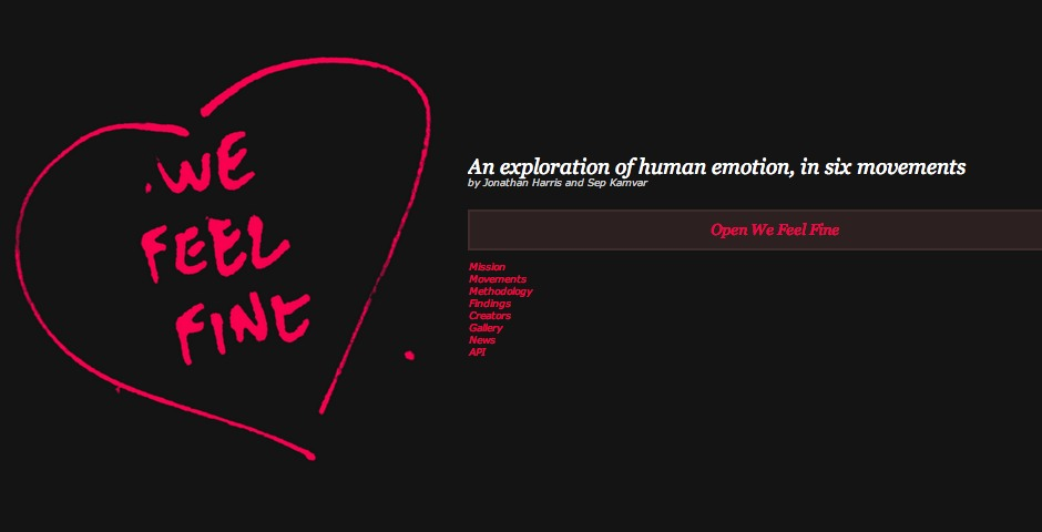 Nominee - We Feel Fine