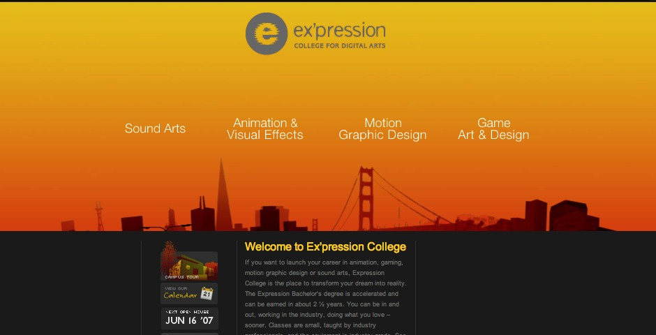 Nominee - Ex'pression College for Digital Arts