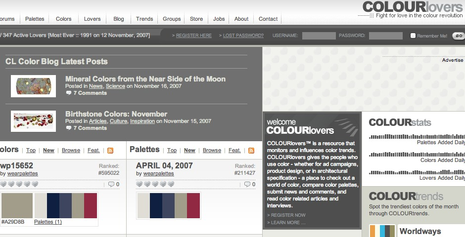 Nominee - COLOURlovers Coup.0