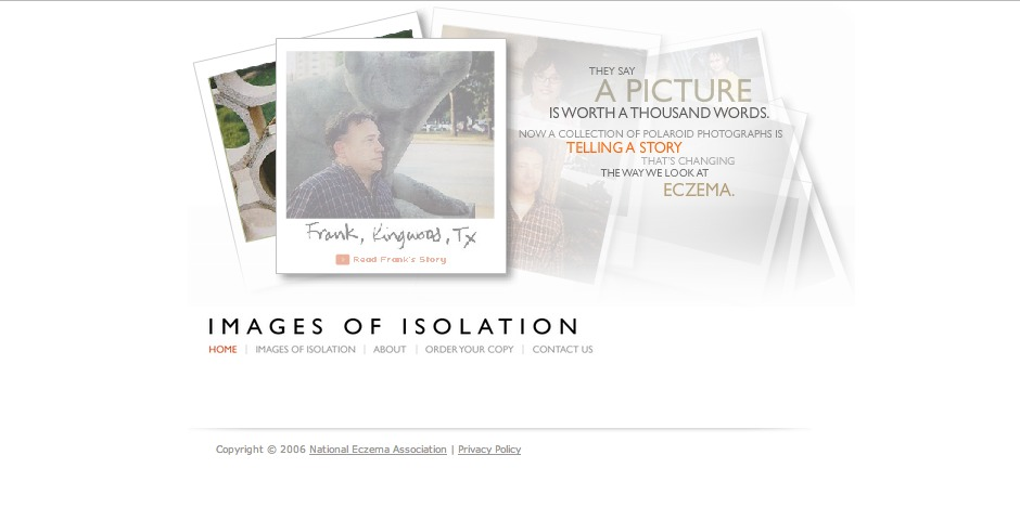 Nominee - Images of Isolation