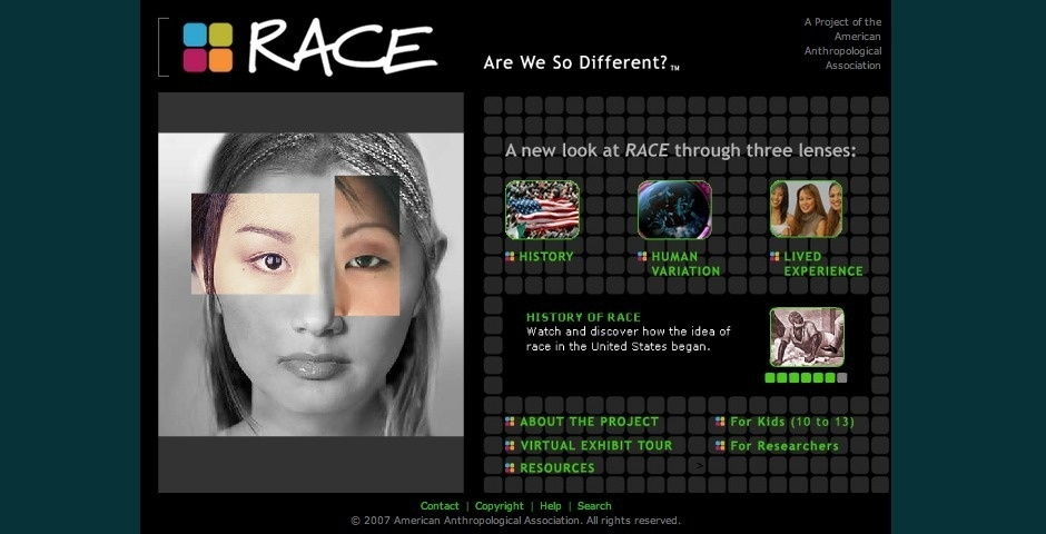 Webby Award Nominee - RACE: Are We So Different?
