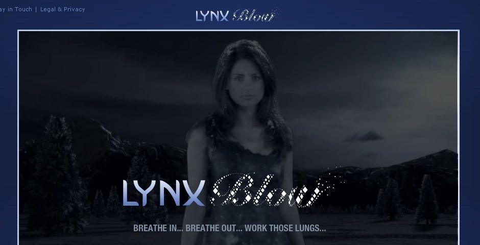 Webby Award Nominee - Lynx Blow