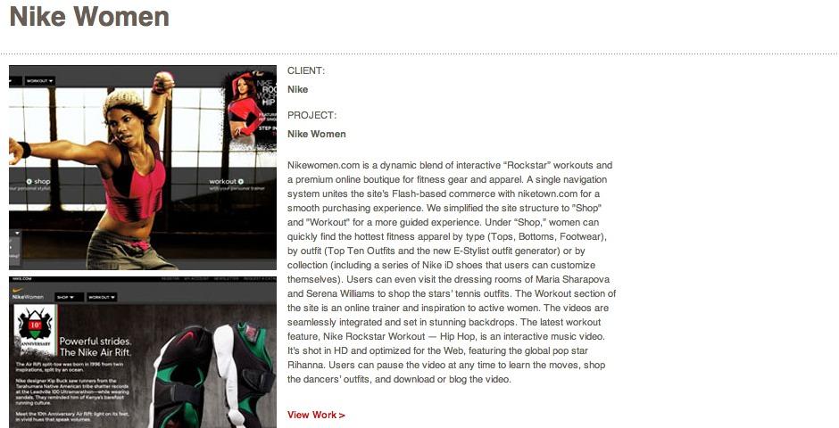 People's Voice - Nike Women