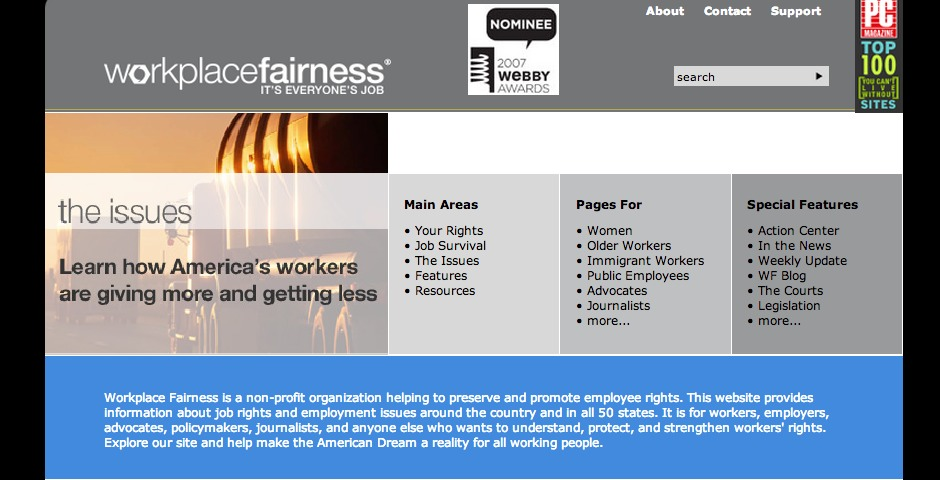 Nominee - Workplace Fairness