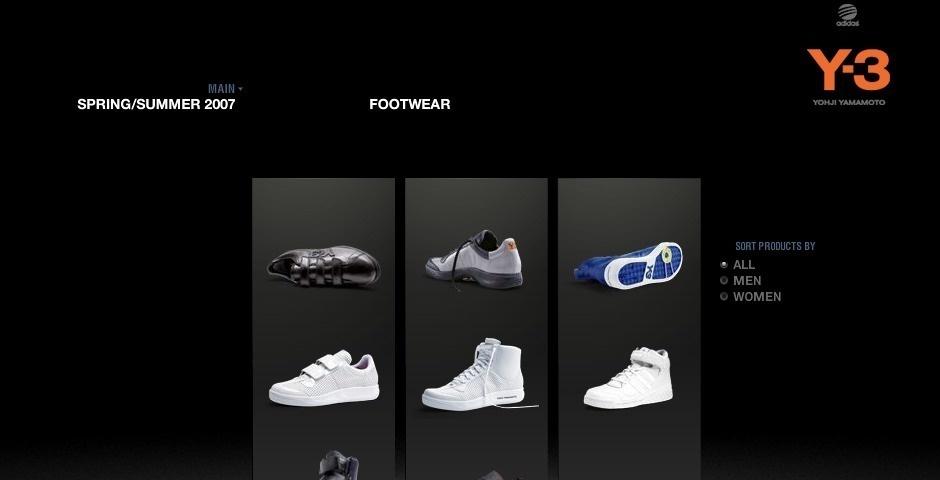Webby Award Nominee - adidas Sport Style Y-3 Reflections