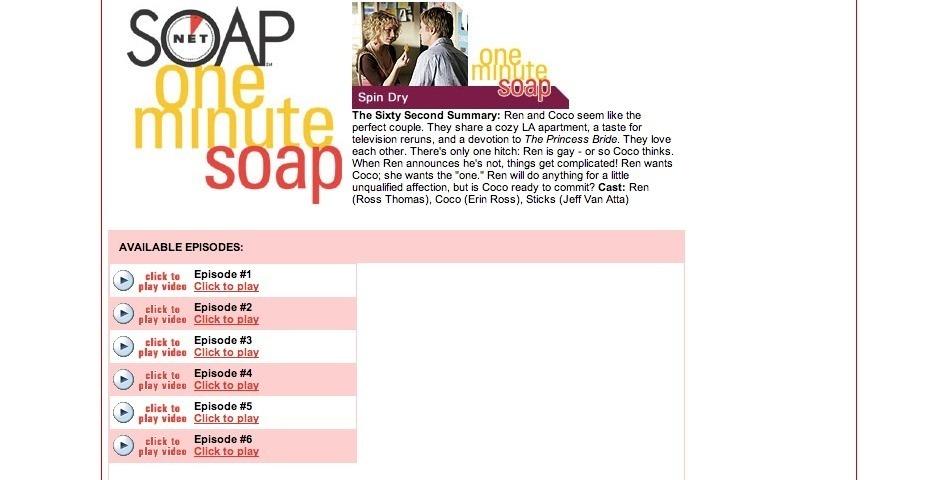 Webby Award Nominee - 1 Minute Soap \