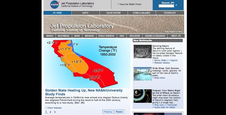 Nominee - Jet Propulsion Laboratory