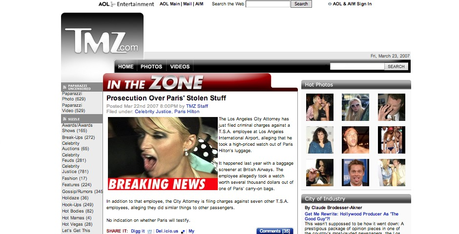 Nominee - TMZ.com