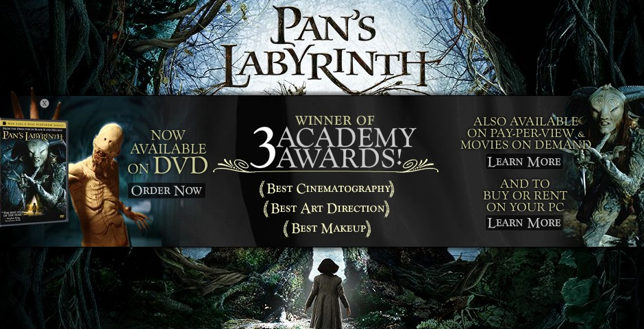 People's Voice / Webby Award Winner - Pan's Labyrinth