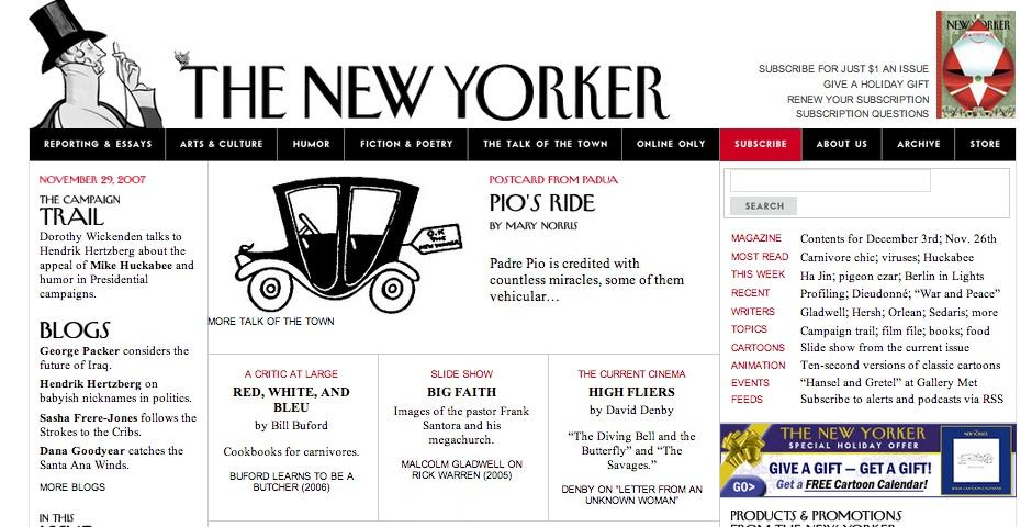 Nominee - Newyorker.com