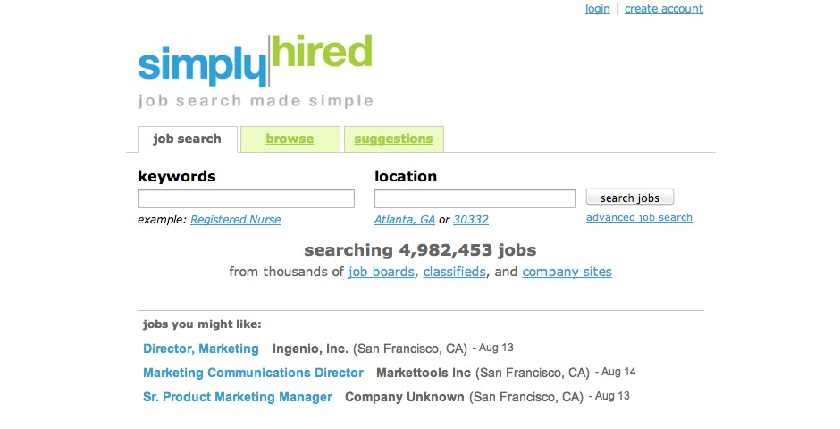 Nominee - Simply Hired