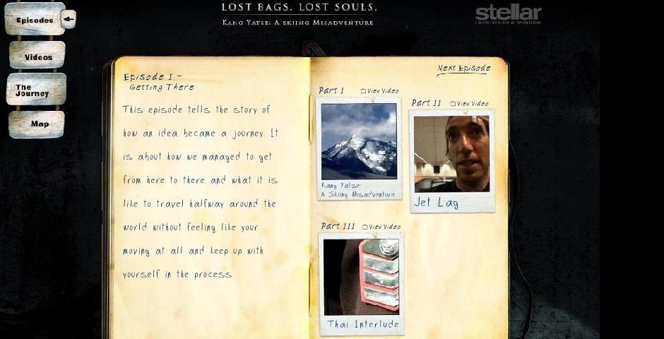 Webby Award Nominee - Lost Bags, Lost Souls