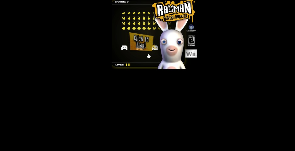 Nominee - Ubisoft Rayman Raving Rabbids