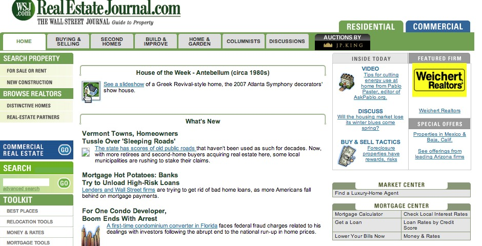 Nominee - Real Estate Journal: The Wall Street Journal's guide to property