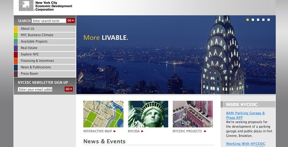 Webby Award Nominee - NYC Economic Development Corporation