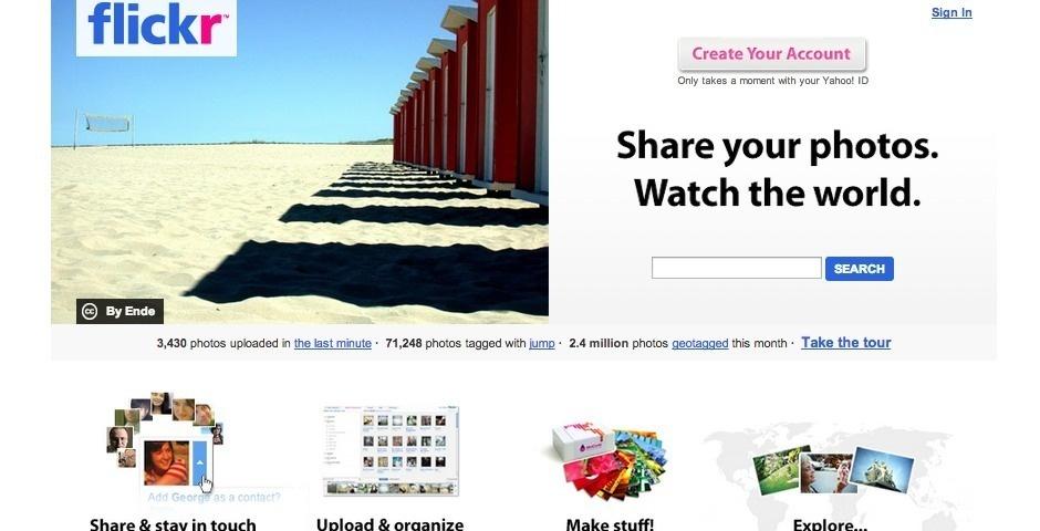 2007 Webby Winner - Flickr