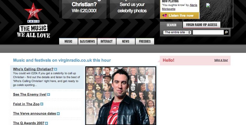 Nominee - Virgin Radio