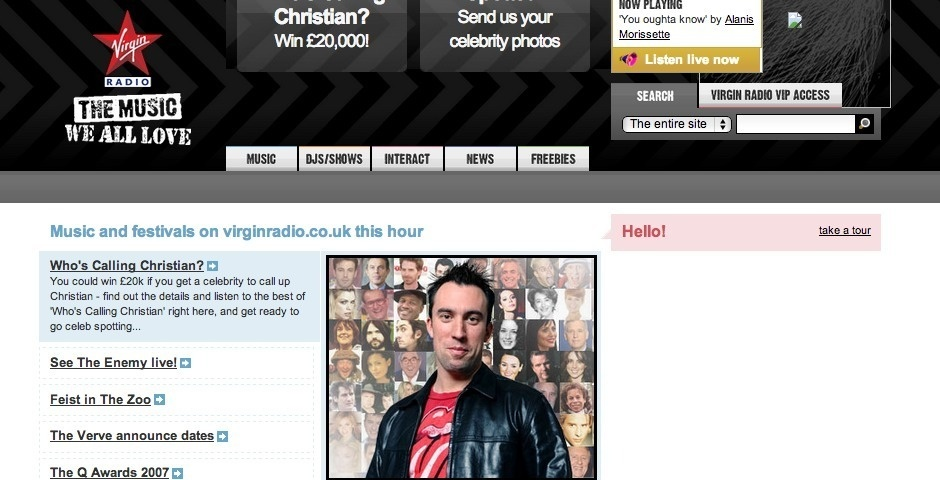 Webby Award Nominee - Virgin Radio