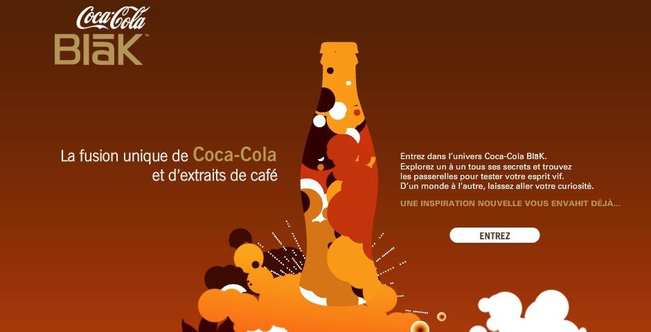 Nominee - Coca-Cola BlaK