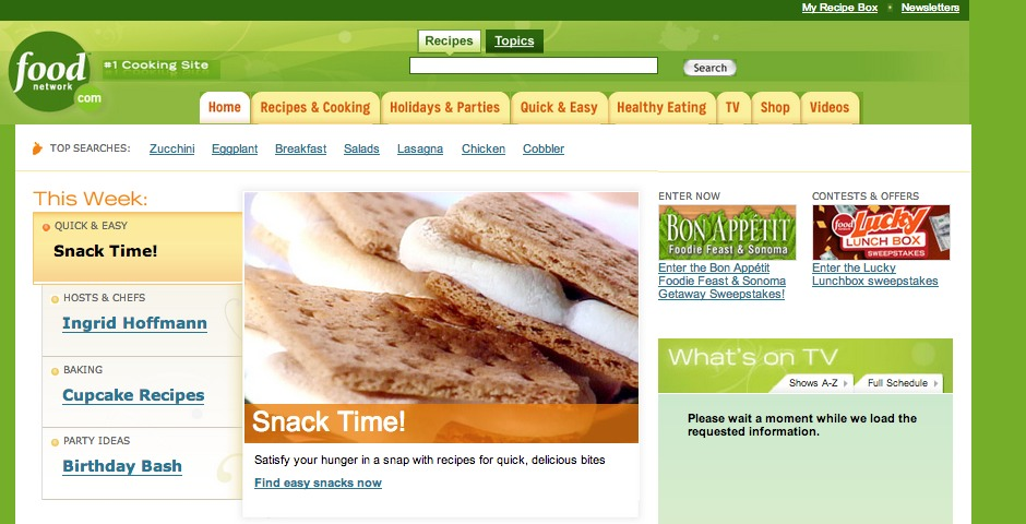 Nominee - FoodNetwork.com