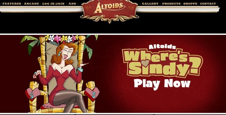 2007 Webby Winner - Altoids.com