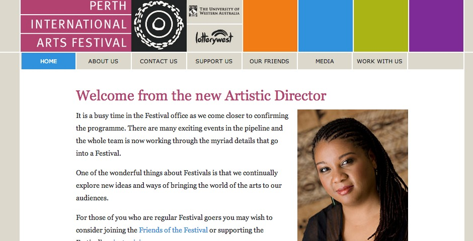 Nominee - The 2007 UWA Perth International Arts Festival