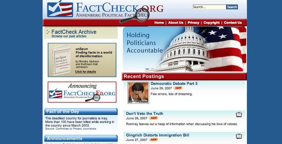 People's Voice - FactCheck