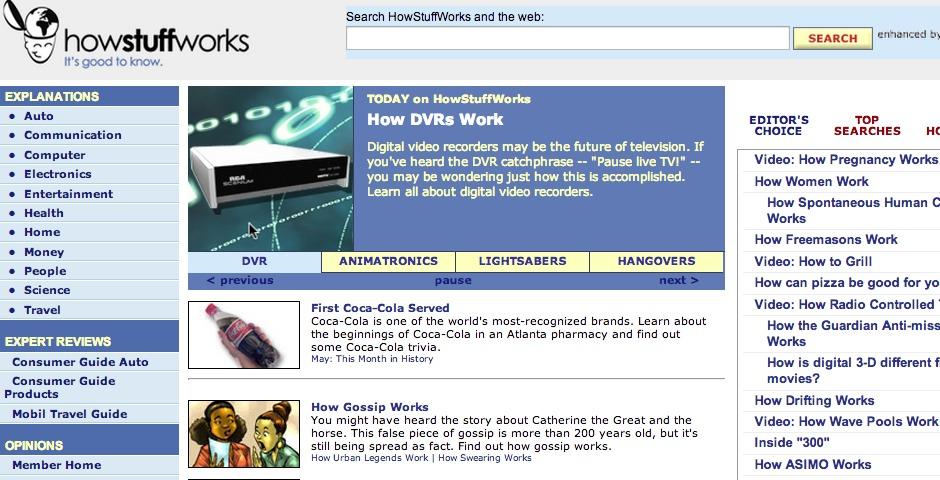People's Voice / Webby Award Winner - HowStuffWorks